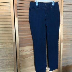 Ann Taylor crop dark jeans